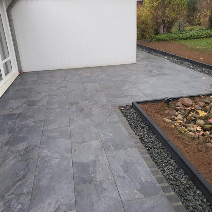 BV Klein Ilsede Terrassenbau mit Emperor Keramikplatten 2