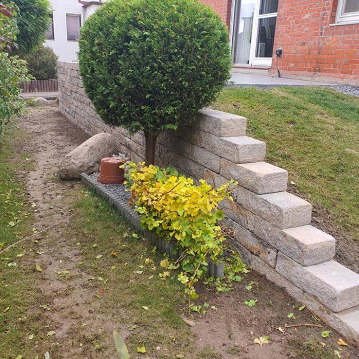 Bv Ilsede Terrassen- und Mauerbau 2